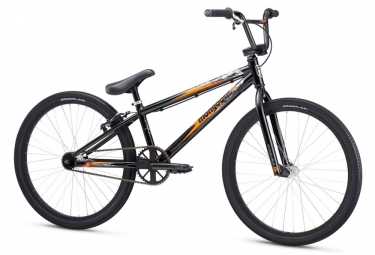 bmx race mongoose title cruiser noir orange 2017