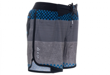 Short 2-en-1 ZOOT BOARD 7´´ Running Surf Noir Bleu