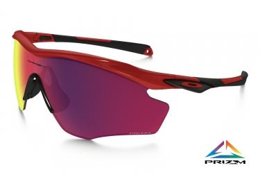 oakley lunettes m2 frame xl redline prizm road ref oo9343 1145