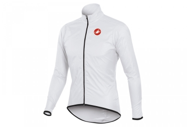 castelli veste squadra long jacket blanc xl