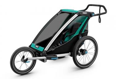 Remorque Thule Chariot Lite 1 Enfant Vert Noir