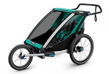 Remorque Thule Chariot Lite 2 Enfants Vert Noir