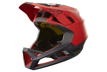 casque integral fox proframe libra mips rouge noir xl 61 64 cm