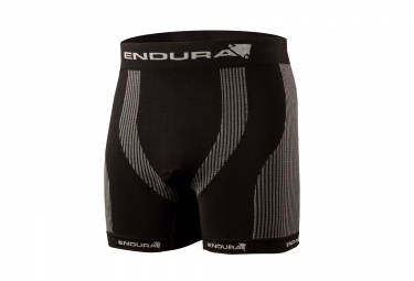 ENDURA Engineered Padded BOXER Black