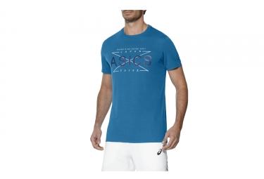 Camiseta mangas cortas Asics GPX azul