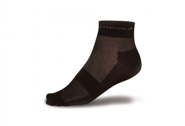 endura pack de 3 paires de chaussettes coolmax race noir 37 5 42