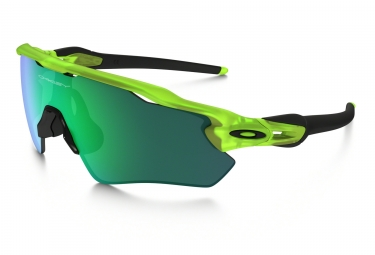 OAKLEY Youth Sunglasses Radar EV XS Path Matte Uranium/Jade Iridium Ref OJ9001-0231