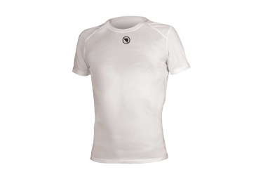 endura translite short sleeved baselayer white xl