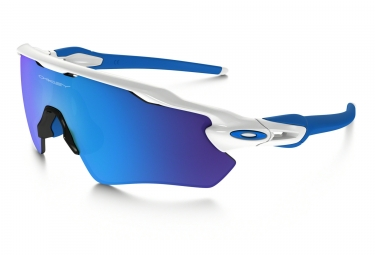 OAKLEY Youth Sunglasses Radar EV XS Path Polished White/Sapphire Iridium Ref OJ9001-0131