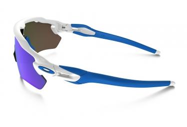 oakley lunettes enfant radar ev xs path blanc bleu sapphire iridium ref oj9001 0131