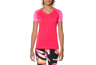 Asics Fuzex Women Short Sleeves Jersey Pink