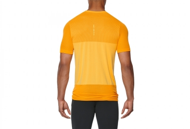 Maillot Manches Courtes Asics Fuzex Seamless Orange