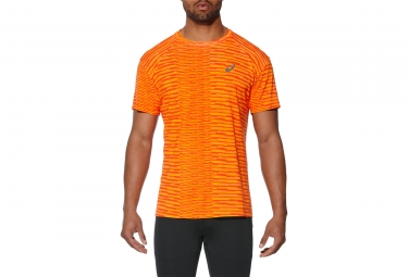 Asics Fuzex Seamless Short Sleeves Jersey Orange