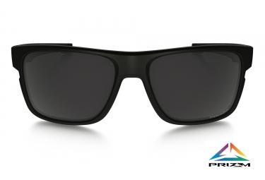 OAKLEY Lunettes Crossrange Noir Mat/Prizm Black Polarized Ref OO9361-0657