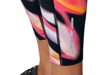 Collant 7/8 Femme Asics Fuzex Rose Noir