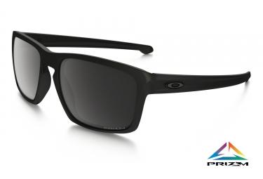 oakley lunettes sliver noir mat prizm black polarized ref oo9262 4457