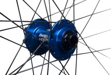 HOPE Tech 35W Pro 4 Front Wheel 27.5'' 32H Boost 15x110mm Blue