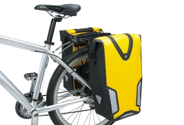 sacoche de voyage impermeable topeak drybag dx jaune