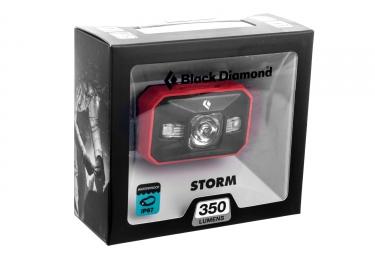 Lampe Frontale BLACK DIAMOND STORM 250 Lumens Rouge