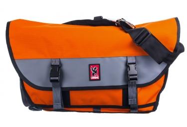 sac bandouliere chrome citizen orange gris