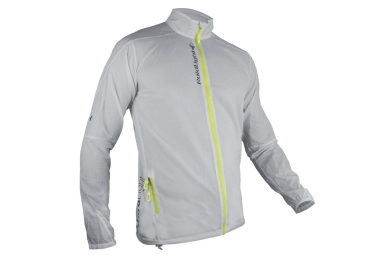 Veste coupe vent raidlight ultralight blanc jaune xl