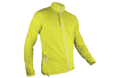 Veste coupe vent raidlight ultralight jaune l