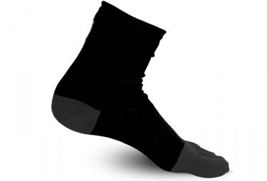 Paire de Chaussettes Raidlight 5 Toes Noir Gris