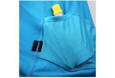 maillot manches courtes raidlight performer xp bleu l