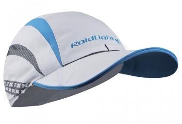 Casquette raidlight blanc bleu