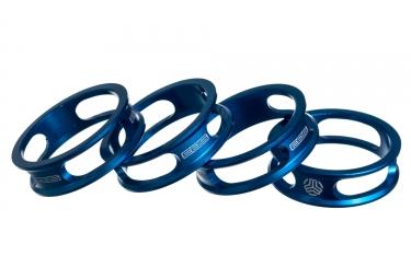 sb3 kit de 4 entretoises ajourees bleu