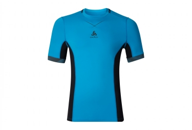 Short Sleeves Baselayer ODLO 2017 Ceramicool Pro Blue Black