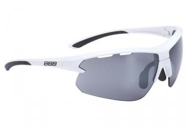 paire de lunettes bbb impulse blanc