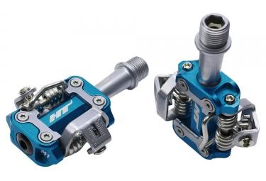 Paire de pedales vtt ht components m1 bleu