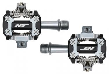 Paire de pedales vtt ht components m1 noir