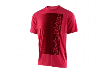 t shirt troy lee designs halfway rouge l