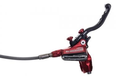 HOPE Rear Brake Tech X2 Red Edition Manguera trenzada sin disco sin adaptador
