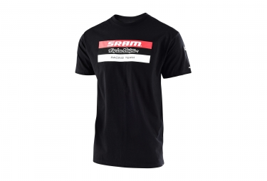T shirt troy lee designs sram tld racing noir l