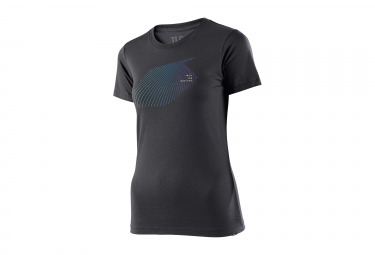 t shirt femme troy lee designs fine lines gris m