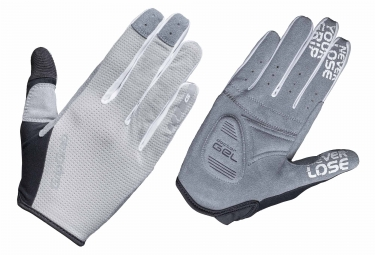 GripGrab Shark Women Long Gloves Grey