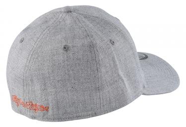 casquette troy lee designs shield new era gris orange s m
