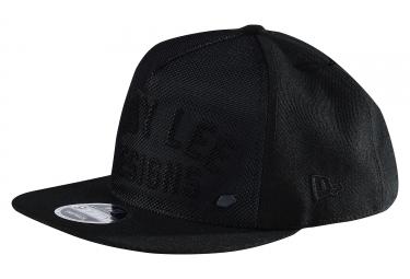 casquette troy lee designs reflecto black