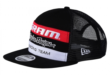 Casquette Troy Lee Designs SRAM TLD Racing Noir