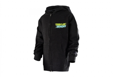 Troy Lee Designs Let Loose Youth Hoodie Black