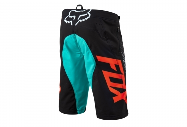 FOX Short FLEXAIR Aqua Noir Orange
