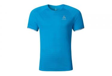 T shirt running odlo 2017 yocto bleu m