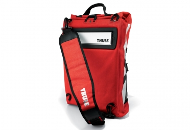 sacoche thule pack n pedal commuter pannier 2 rouge mars