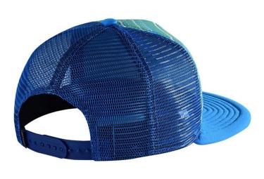 casquette femme troy lee designs electro bleu