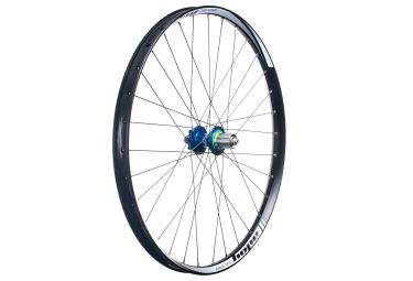 roue arriere hope tech 35w pro 4 27 5 9x135 12x142mm corps shimano sram bleu