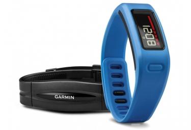 garmin bracelet d activite vivofit capteur cardiaque bleu