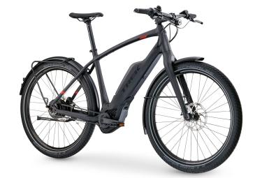 Vélo de Ville Électrique Trek Super Commuter + 9 Nuvinci Noir 2017
